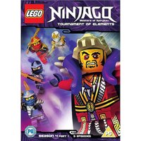 Lego Ninjago: Masters Of Spinjitzu - Season 4 (Part 1) DVD