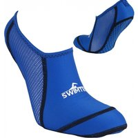 SwimTech Pool Sock Blue UK Junior Size 10-13