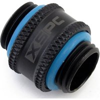 XSPC G1/4 inch 10mm Male to Male Fitting (Matte Black) V2