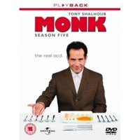 Monk Season 5 DVD