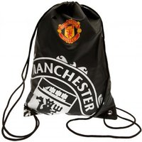 Manchester United FC Gym Bag Black