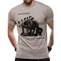 Madness - One Step Beyond Men's Small T-Shirt - Grey