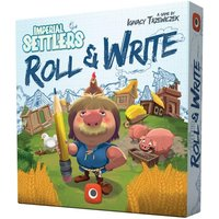 Imperial Settlers: Roll & Write Board Game