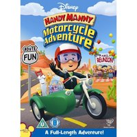 Handy Manny's Motorcycle Adventure DVD