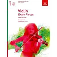 Violin Exam Pieces 2016-2019, ABRSM Grade 1, Score, Part & CD : Selected from the 2016-2019 syllabus