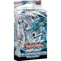 Ex-Display Yu-Gi-Oh! TCG Saga Of Blue Eyes White Dragon Structure Deck Used - Like New