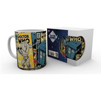 Doctor Who Comics Mug