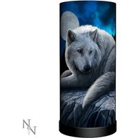 Guardian of the North Wolf Lamp UK Plug