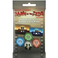 Dawn of the Zeds (3rd Edition) Expansion Pack 3: Rumors and Rails