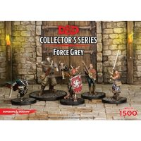 Dungeons & Dragons Collector's Series Miniature Force Grey (5 Figures)