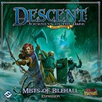 Descent Journeys in the Dark (Second Edition) Mists of Bilehall Board Game
