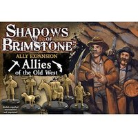 Allies of the Old West Ally Expansion Shadows of Brimstone Board Game