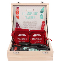 Box of 20 Friendship Feather stones