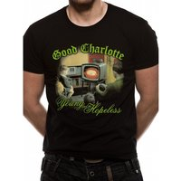 Good Charlotte - Young And Hopeless Men's Small T-Shirt - Black