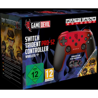 Nintendo Switch Red Trident Pro-S2 Wireless Controller