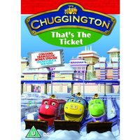 Chuggington: That's The Ticket DVD