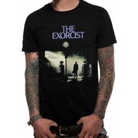 The Exorcist - Movie Sheet Men's X-Large T-Shirt - Black