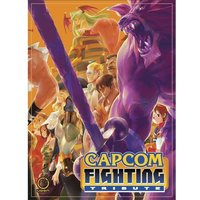 Capcom Fighting Tribute Hardcover