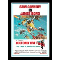 James Bond - You Only Live Twice one-sheet Framed 30 x 40cm Print