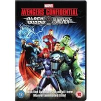 Avengers Confidential Black Widow And Punisher DVD