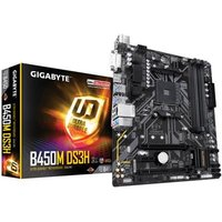 Gigabyte B450M DS3H AMD Socket AM4 Micro ATX DVI-D/HDMI DDR4 USB 3.1 Motherboard