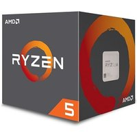 AMD Ryzen 5 1400 Desktop CPU - AM4/Quad Core/3.2GHz 3.4GHZ Turbo/10MB/65W