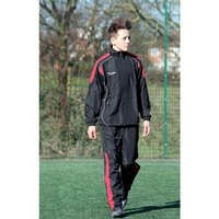 Precision Ultimate Tracksuit Trousers Black/Red/Silver 38-40
