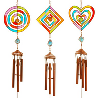 Colourful Chime Pack Of 6