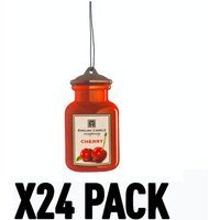 Cherry 2D (Pack Of 24) English Candle Air Freshener