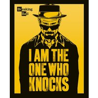 Breaking Bad - I Am the One Who Knocks Mini Poster