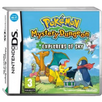 Pokemon Mystery Dungeon Explorers Of Sky Game