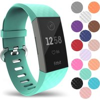 YouSave Activity Tracker Silicone Strap - Large (Mint Green)