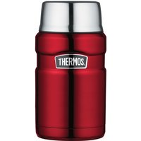 Image of Stainless King Food Flask 0.71L Red
