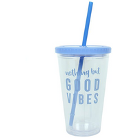 Good Vibes Drinking Cup Pack Of 4