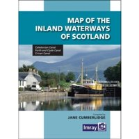 Map Inland Waterways of Scotland
