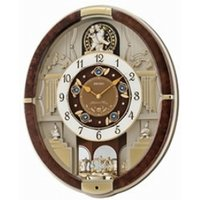 Analogue Melodies in Motion Wall Clock 12 Melodies