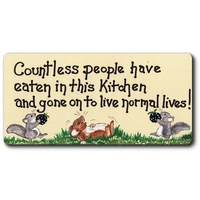 Countless People Smiley Magnet Pack Of 12