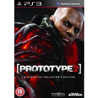 Prototype 2 Blackwatch Collector's Edition Game