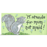 M Stands For Mum Not Maid Pack Of 12