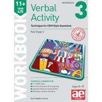 11+ Verbal Activity Year 4/5 Workbook 3 : Technique for CEM Style Questions
