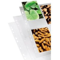 Hama Photo Sleeves, DIN A4, for 4-8 Photos in 9x13 cm Format, clear, 10 pcs.