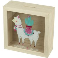 Llama Money Money Box Frame