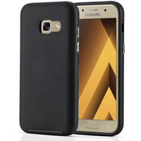 Samsung Galaxy A3 (2017) PC TPU Texture Case - Black