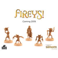 Labyrinth The Board Game: Fireys! Expansion
