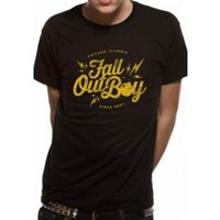 Fall Out Boy Bomb T-Shirt XX-Large - Black