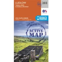 Ludlow and Tenbury Wells by Ordnance Survey (Sheet map, folded, 2015)