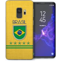 CASEFLEX SAMSUNG GALAXY S9 BRAZIL WORLD CUP CASE / COVER (3D)