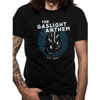 Gaslight Anthem - Gloves Men's X-Large T-Shirt - Black