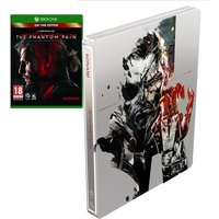 Metal Gear Solid V The Phantom Pain Day One Steelbook Edition Xbox One Game