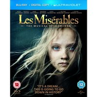 Les Miserables Blu-ray + Digital Copy + UV Copy